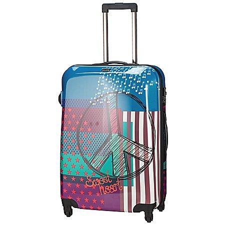 Travelite Flux 4-Rollen-Trolley 65 cm
