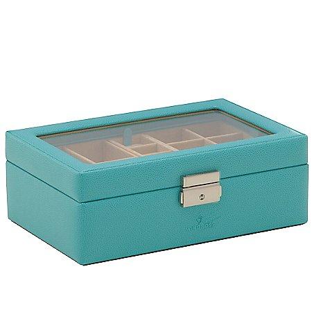Windrose Beluga Charmbox mit Plexiglas 24 cm