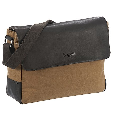 Bugatti Urbano Messenger Bag mit Laptopfach 35 cm