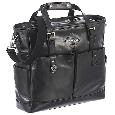 The Bridge Patch Luxe Shopper mit Laptopfach 37 cm