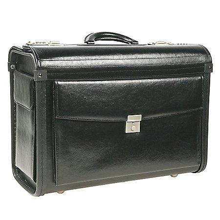 Dermata Business Pilotenkoffer aus Leder