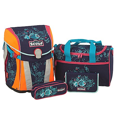 Scout Sunny Limited Edition Schulranzenset 4-tlg.