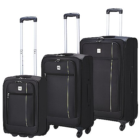 Wagner Luggage Holiday 2- und 4-Rollen Trolley Set 3-tlg.