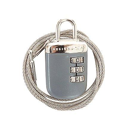 Design Go Reisezubeh�r Kabel-Kombinationsschloss