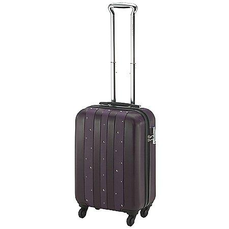 Pack Easy Cubo Bling 4-Rollen-Kabinentrolley mit Swarovski Kristallen 50 cm