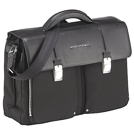 Piquadro Link Aktentasche mit Laptopfach 2 F�cher 46 cm