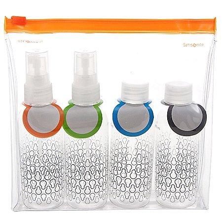 Samsonite Travel Accessories Packing Accessoires Kosmetikflaschen-Set f�rs Handgep�ck