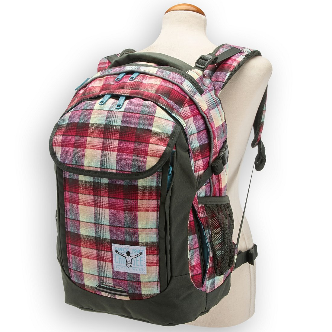 d2d396213b0b0 Chiemsee Sports   Travel Bags Cambridge Backpack 49 cm - checky chan pink.  Previous