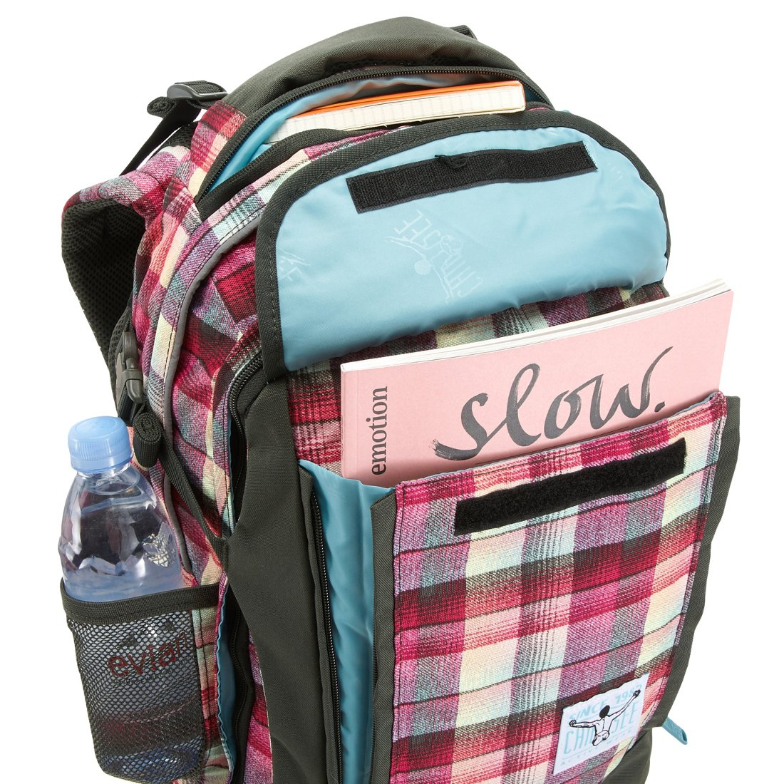 337454ee37641 Chiemsee Sports   Travel Bags Cambridge Backpack 49 cm - checky chan pink