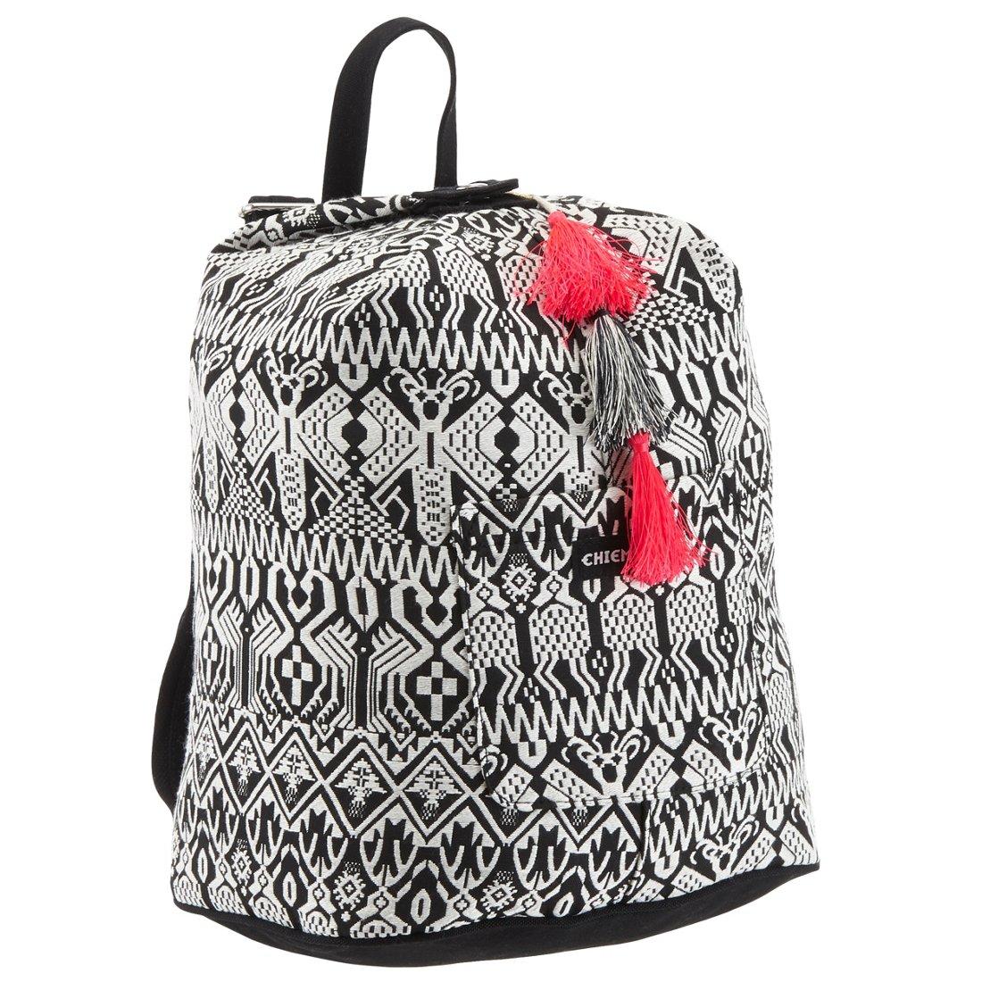 d379f8b976e99 Chiemsee Sports   Travel Bags Black   White Rucksack 41 cm - koffer -direkt.de