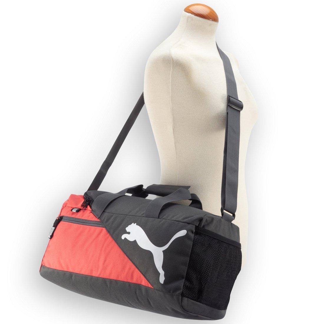 Puma Fundamentals Sports Bag XS Sporttasche 40 cm - rose violet-true blue