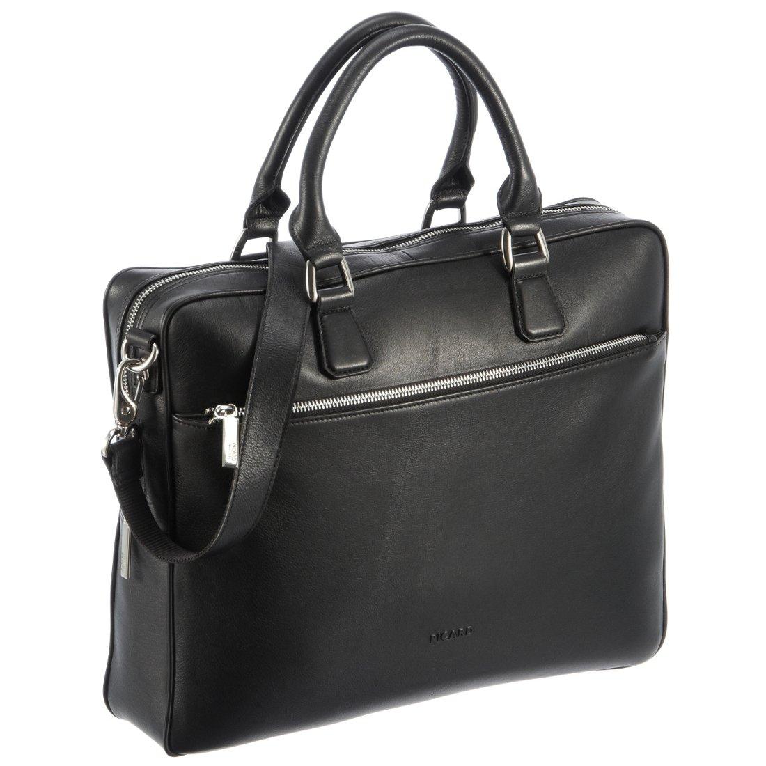 9cedce2171428 Picard Maggie Damen Aktentasche mit Laptopfach 39 cm - schwarz -  koffer-direkt.de