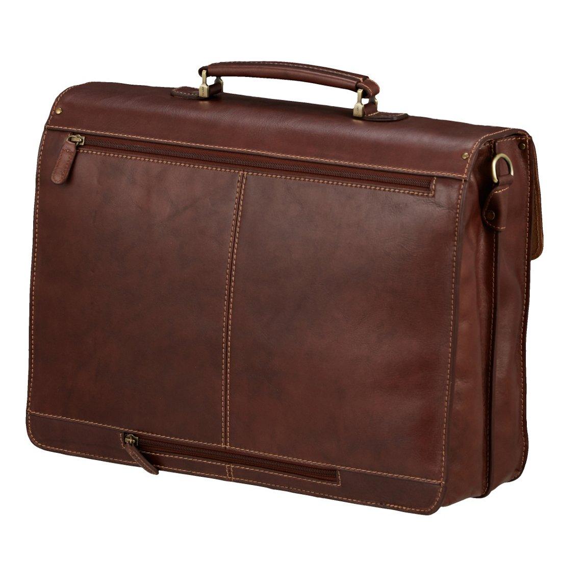 d6279917f0773 Picard Toscana Aktentasche mit Laptopfach 42 cm - kastanie - koffer ...