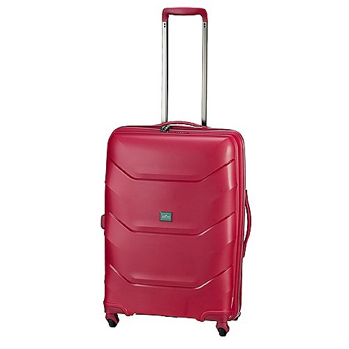 March 15 Trading Vienna 4-Rollen-Trolley 66 cm - raspberry - broschei