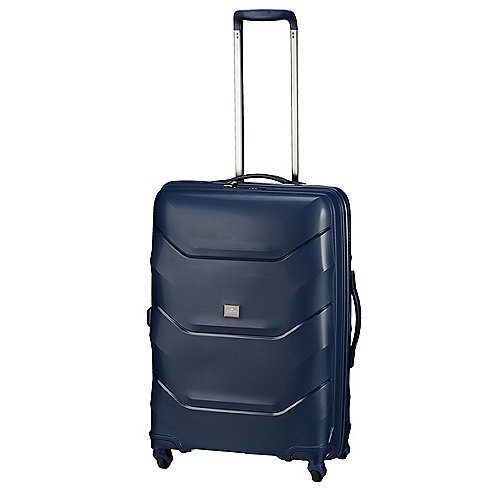 March 15 Trading Vienna 4-Rollen-Trolley 66 cm - blue
