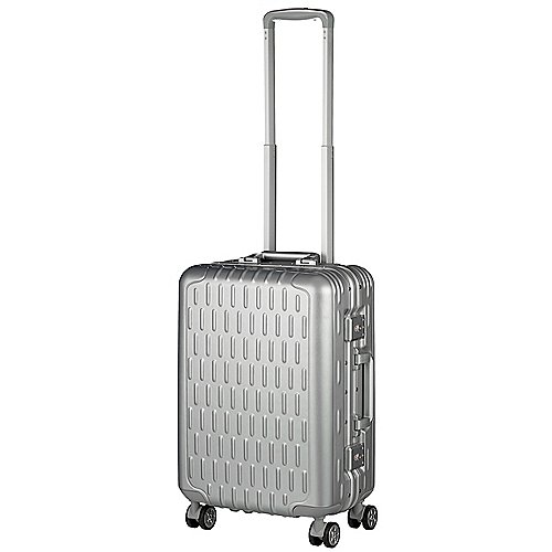 March 15 Trading Discovery 4-Rollen Kabinentrolley 55 cm - aluminium silver