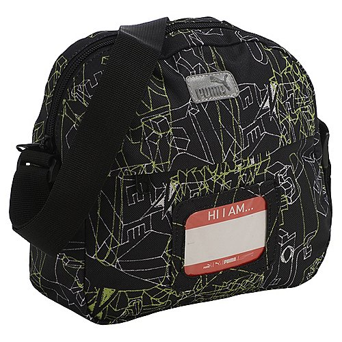 Puma Primary Small Shoulder Bag Umhängetasche 20 cm black puma graphic