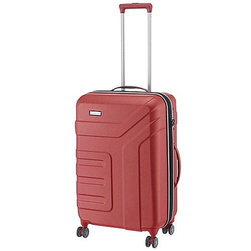 Schipkau Angebote Travelite Vector 2.0 4-Rollen-Trolley 70 cm - koralle