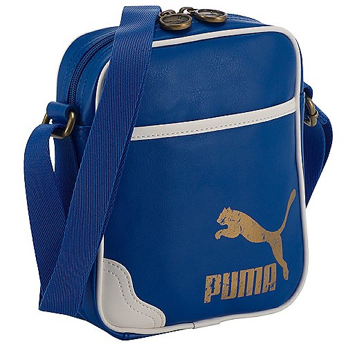 Puma Originals Portable Schultertasche 20 cm victoria blue