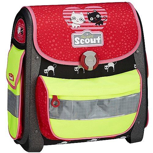 Scout Buddy Limited Edition Schulranzenset 4-tlg. Jubiläumsausgabe - Lovely Cat