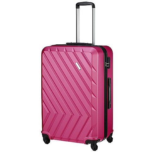 Travelite Quick 4 Rollen Trolley 74 cm - pink bei Koffer-Direkt.de
