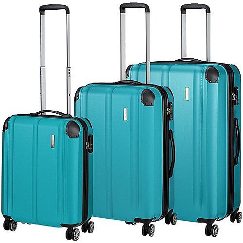 Travelite City 4-Rollen-Trolley Set 3-tlg. Produktbild