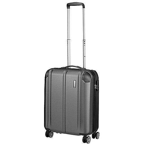 Travelite City 4-Rollen-Bordtrolley 55 cm - anthrazit