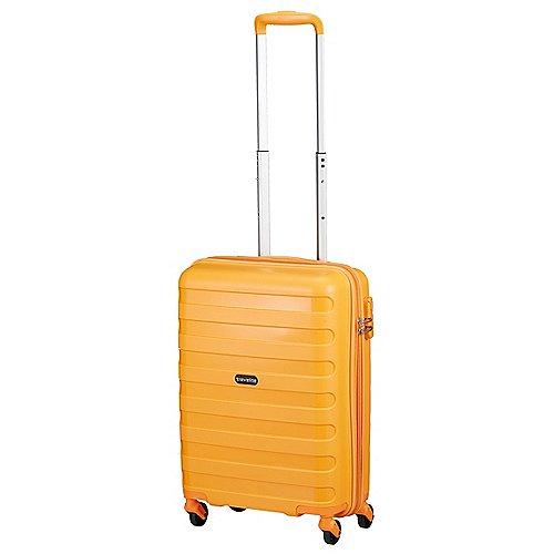 Travelite Nova 4-Rollen Kabinentrolley 55 cm - orange