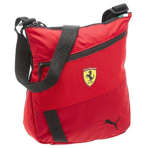 Puma Ferrari Fanwear Portable Umhängetasche 26 cm rosso corsa puma black