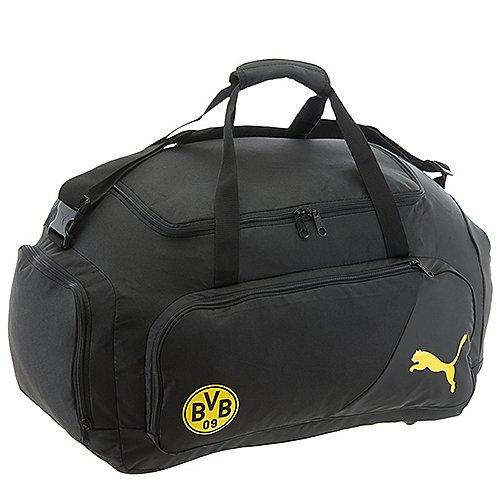Puma BVB Liga Medium Bag Sporttasche 58 cm black cyber yellow