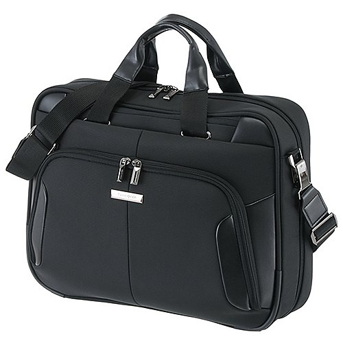 Samsonite XBR Aktentasche mit Laptopfach 43 cm - black