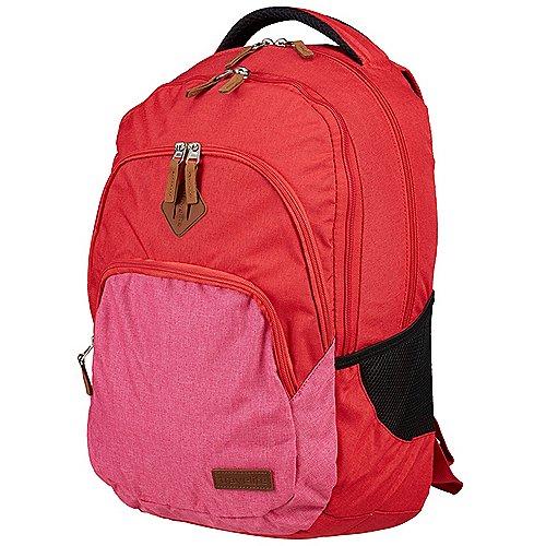 Travelite Neopak Rucksack 45 cm - rot-pink