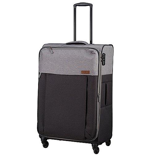 Travelite Neopak 4-Rollen-Trolley 77 cm - anthrazit-grau