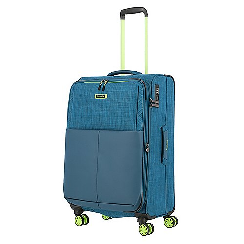 Travelite Proof 4-Rollen Trolley erw. 68 cm Produktbild