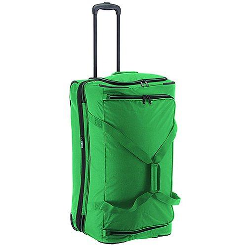 Travelite Basics Trolley Reisetasche 70 cm grün blau auf Rechnung bestellen