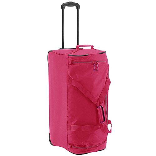 Travelite Basics Rollreisetasche 71 cm pink