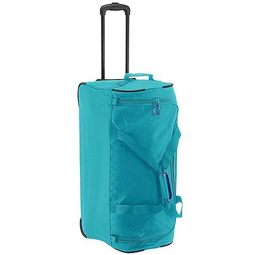 Travelite Basics Rollreisetasche 71 cm türkis