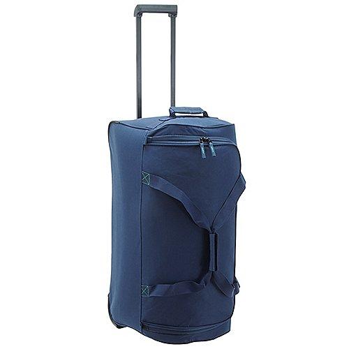 Travelite Basics Rollenreisetasche 68 cm marine