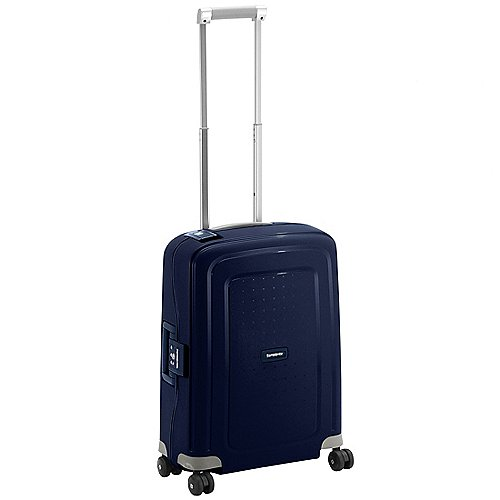 Samsonite S Cure Spinner 4-Rollen-Kabinentrolley 55 cm - dark blue