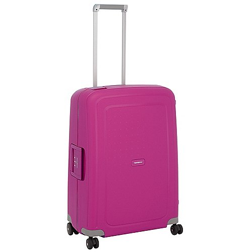 Samsonite S Cure Spinner 4-Rollen-Hartschalentrolley 69 cm - fuchsia