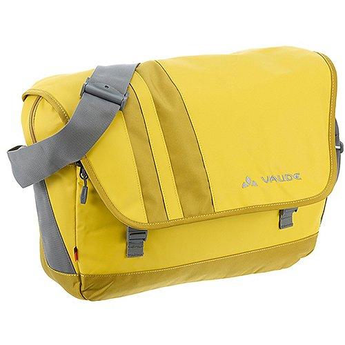 Vaude Adays Ayo Messenger Bag mit Laptopfach 46 cm - dark sulphur