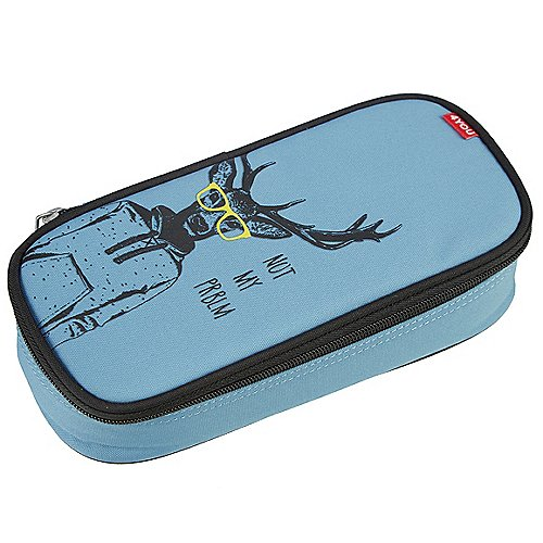 4YOU Pencil Case mit Geodreieck 24 cm Produktbild
