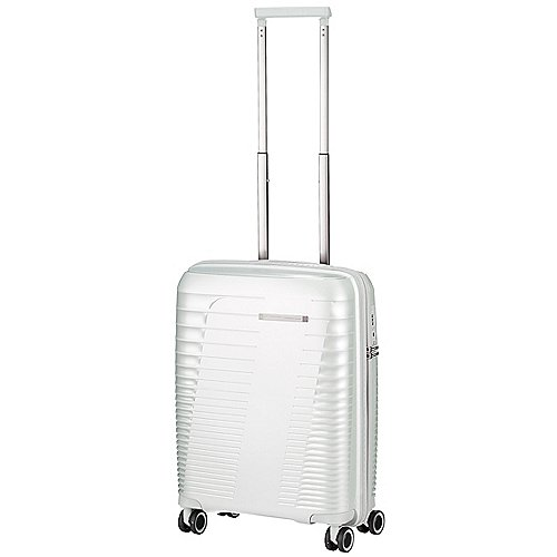 March 15 Trading Stonic 4-Rollen Kabinentrolley 55 cm - silver metal