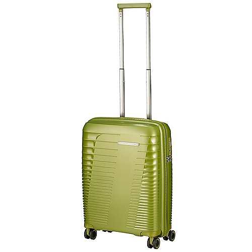 March 15 Trading Stonic 4-Rollen Kabinentrolley 55 cm - green metal