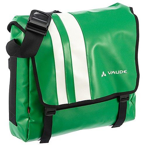 Vaude New Wash Off Bert M Umhängetasche mit Laptopfach 34 cm - apple green