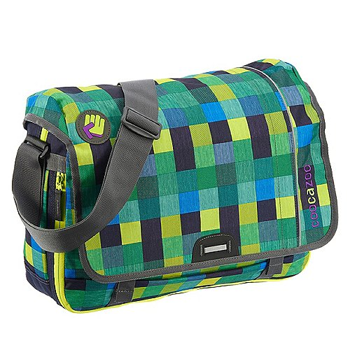 Coocazoo City and School Hangdang Schultertasche mit Laptopfach 44 cm melange a trois navy