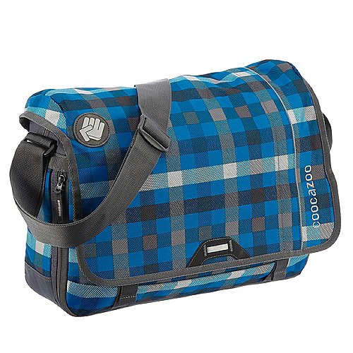 Coocazoo City and School Hangdang Schultertasche mit Laptopfach 44 cm hip to be a square blue