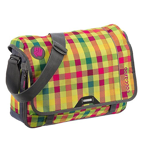 Coocazoo City and School Hangdang Schultertasche mit Laptopfach 44 cm hip to be a square green