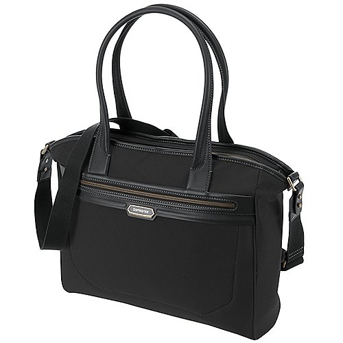 Samsonite Integra Umhängetasche mit Laptopfach 49 cm - black/black