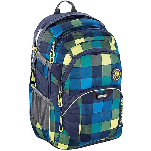 Coocazoo City and School JobJobber2 Laptoprucksack mit Patch 45 cm lime district auf Rechnung bestellen